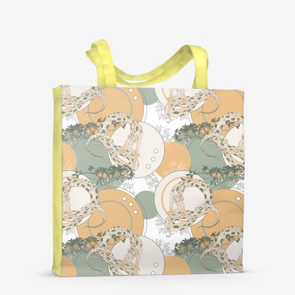 Сумка-шоппер «Snake pattern»
