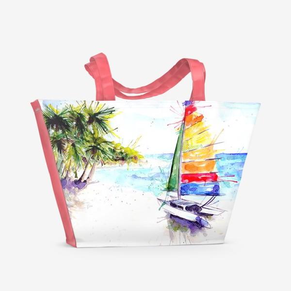 Пляжная сумка «Парус»