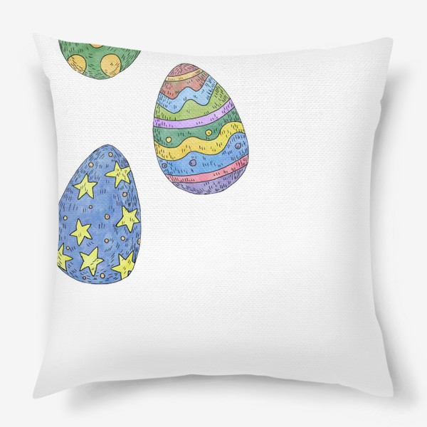 Подушка «Пасхальные яйца»