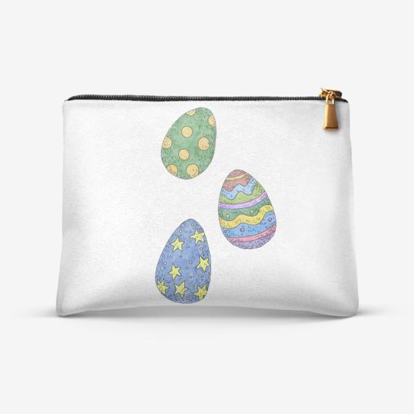 Косметичка «Пасхальные яйца»