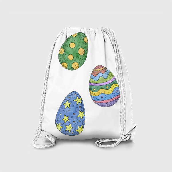 Рюкзак «Пасхальные яйца»
