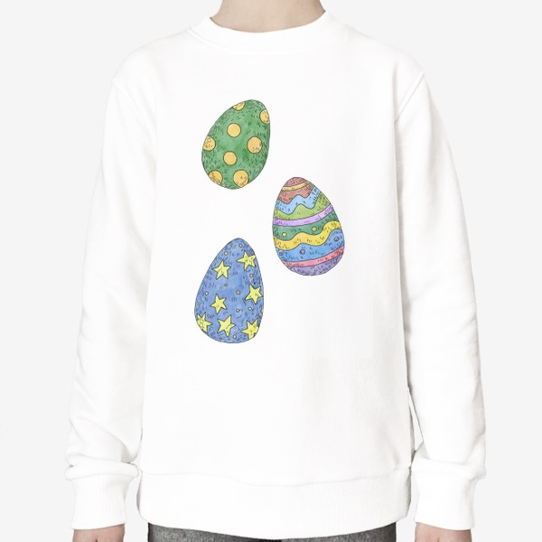 Свитшот «Пасхальные яйца»
