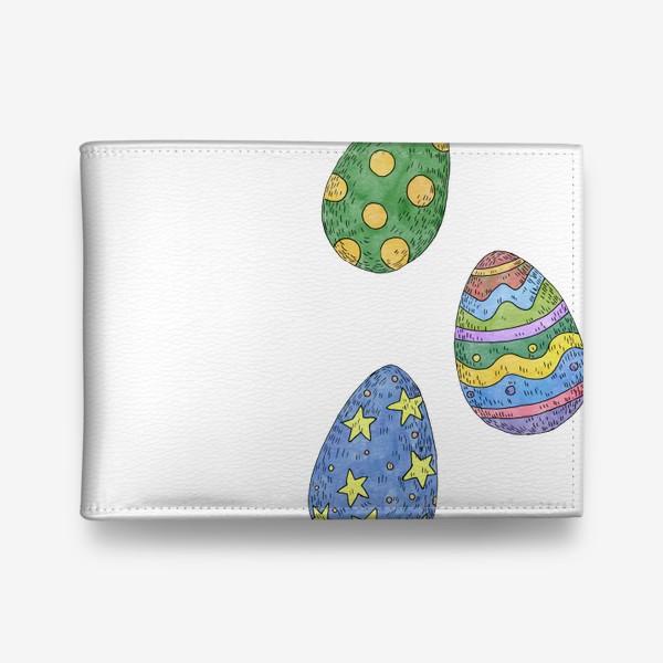 Кошелек «Пасхальные яйца»