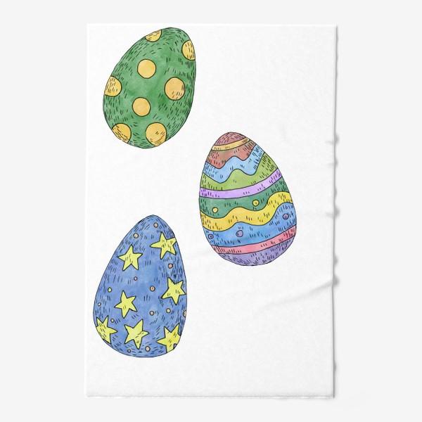 Полотенце «Пасхальные яйца»