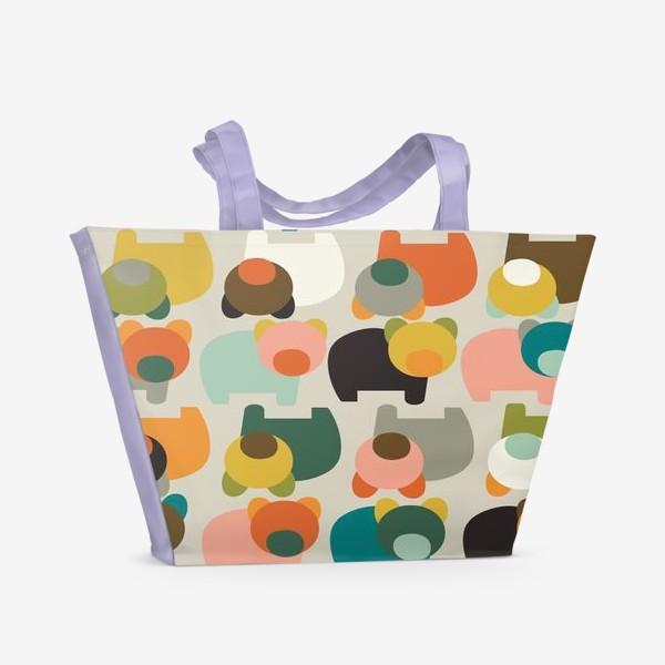 Пляжная сумка «Медведи»