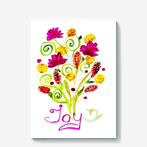 Холст «joy»