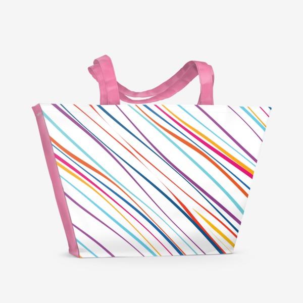 Пляжная сумка «Паттерн»