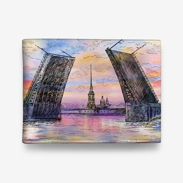 Кошелек «Дворцовый мост, Санкт-Петербург»