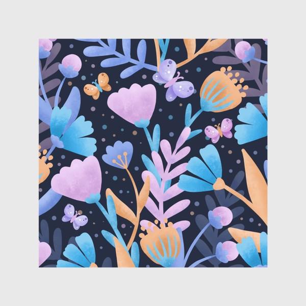 Шторы «Абстрактные цветы»