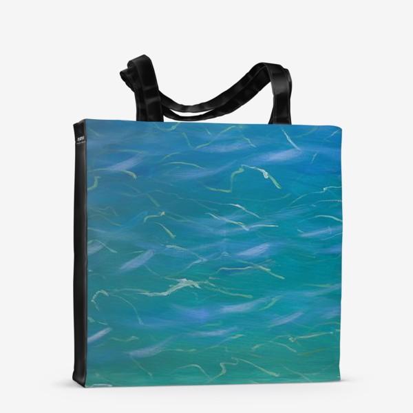 Сумка-шоппер «Морская вода»
