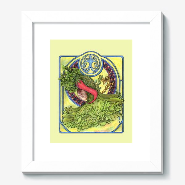 Картина «Специи и овощи 2  Модерн Ар нуво»