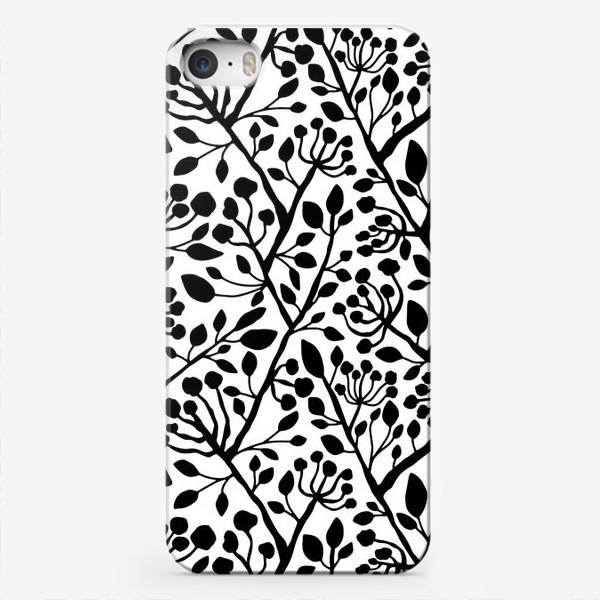 Чехол iPhone «Цветущие ветки дерева»