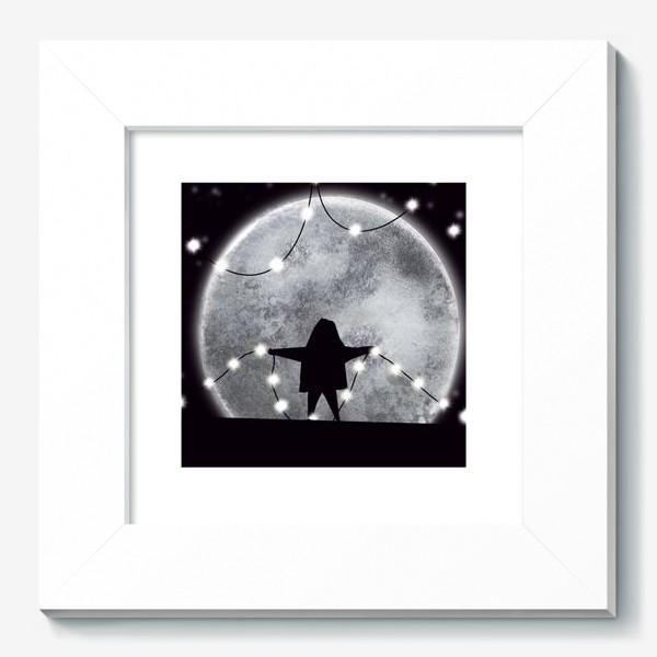 Картина «Звездочёт на чёрном »