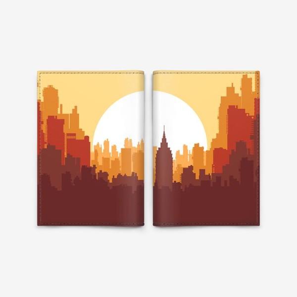 Обложка для паспорта «Sunset»