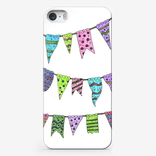 Чехол iPhone «Праздничные гирлянды»