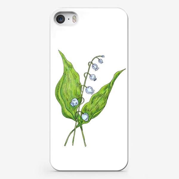 Чехол iPhone «Майский ландыш весенний цветок»