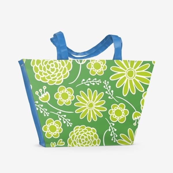 Пляжная сумка «летний мотив»