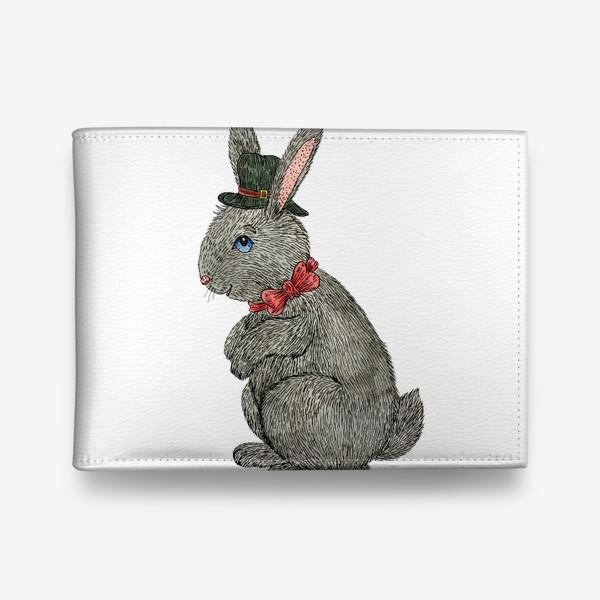 Кошелек «Милый кролик в шляпе»