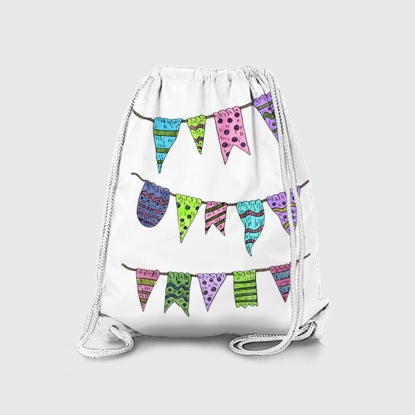 Рюкзак «Праздничные гирлянды»
