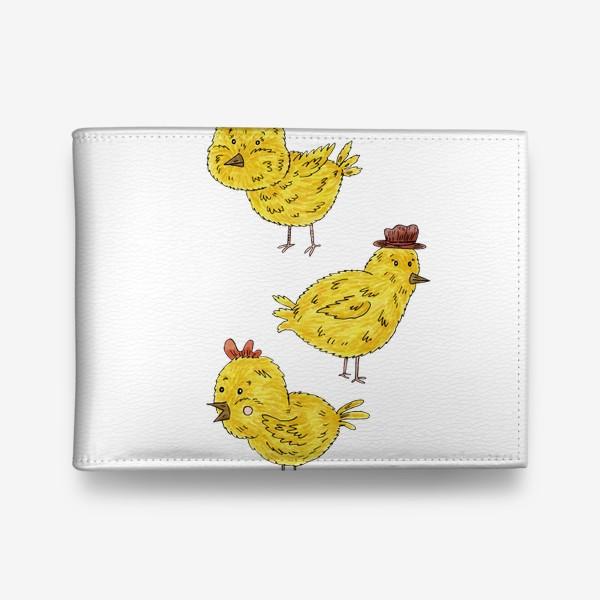 Кошелек «Веселые цыплята»