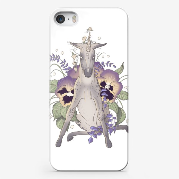 Чехол iPhone «Pansy»