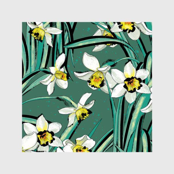 Шторы «Нарциссы Весенние цветы»