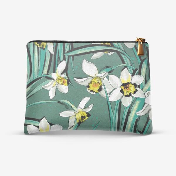 Косметичка «Нарциссы Весенние цветы»