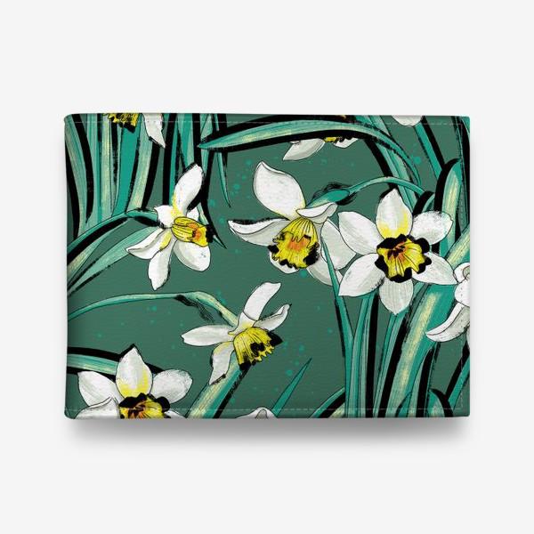 Кошелек «Нарциссы Весенние цветы»