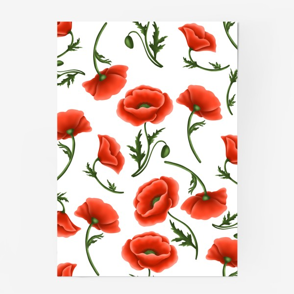 Постер «Маки красные»