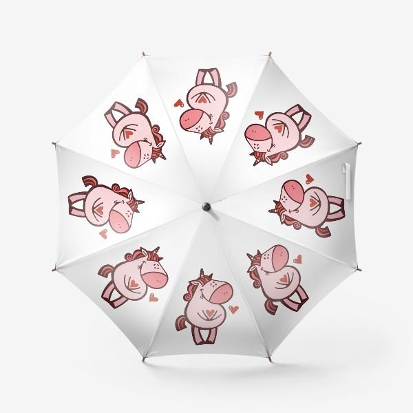 Зонт «Единорожка»