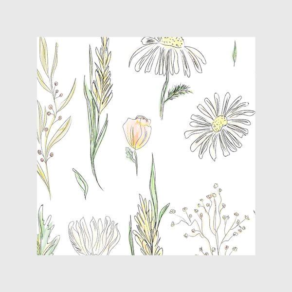 Скатерть «полевые травы»
