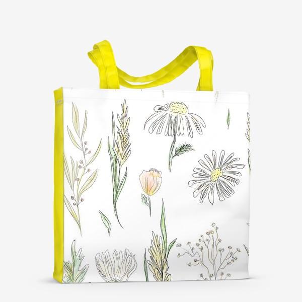 Сумка-шоппер «полевые травы»