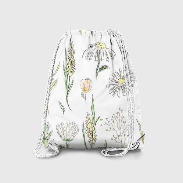Рюкзак «полевые травы»