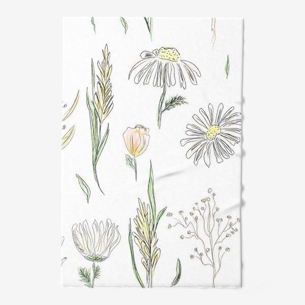 Полотенце «полевые травы»