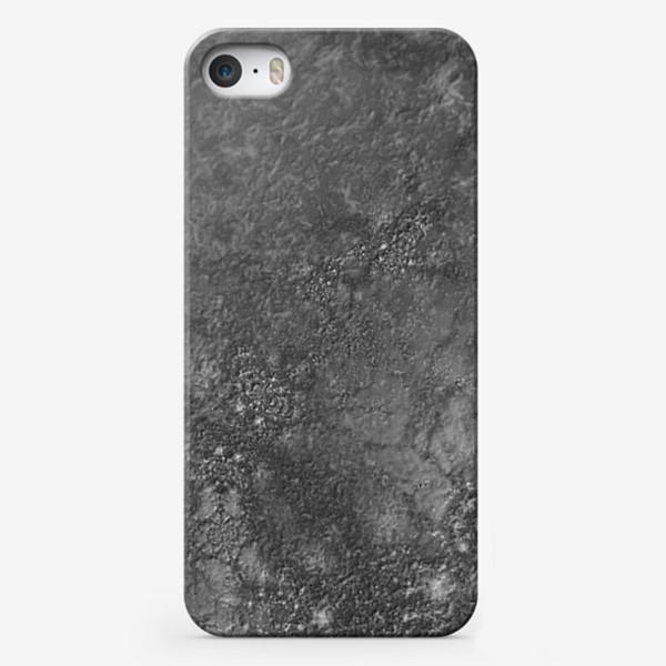 Чехол iPhone «Текстура бетон, камень»