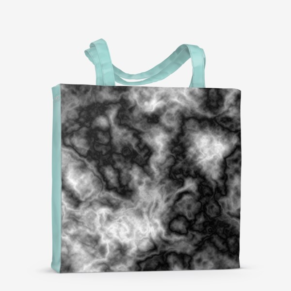 Сумка-шоппер «Текстура, размытый фон, туман, вода»