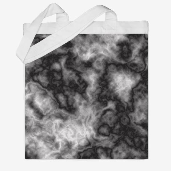 Сумка хб «Текстура, размытый фон, туман, вода»