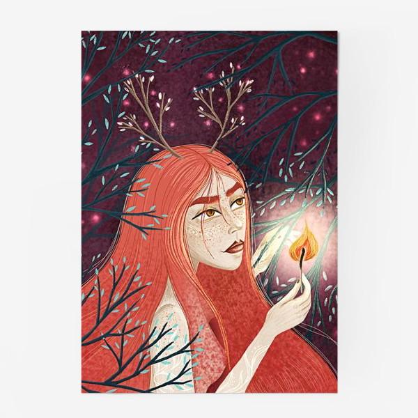 Постер «Королева Огня/Королева Весны»