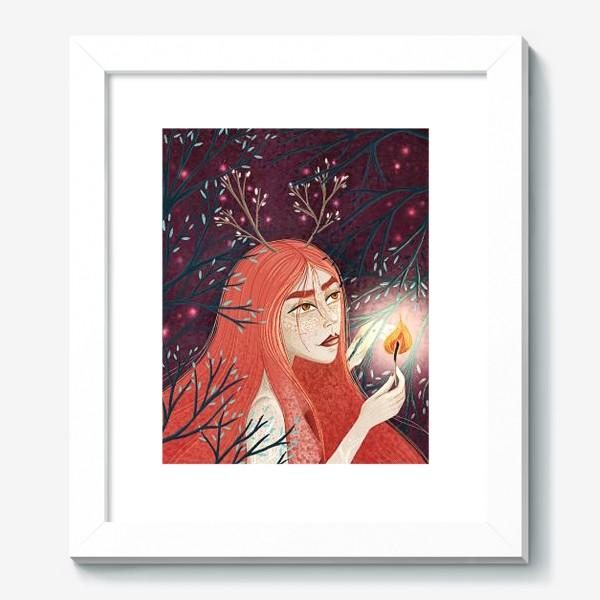 Картина «Королева Огня/Королева Весны»