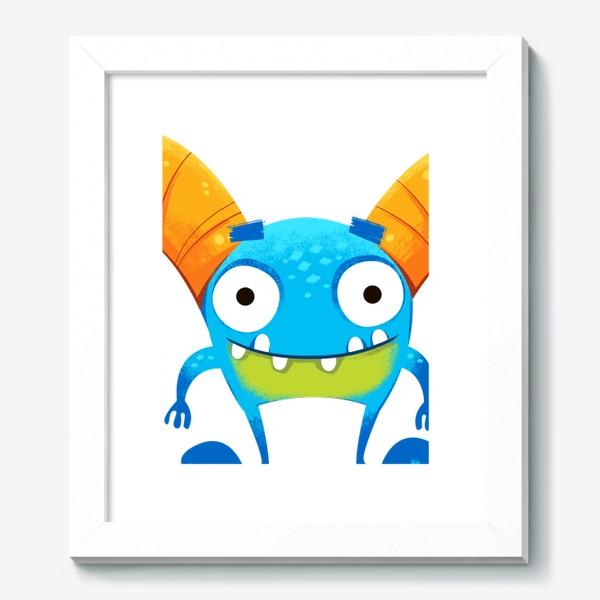 Картина «монстр козерог»