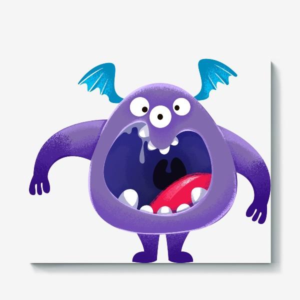 Холст «монстр крикун»