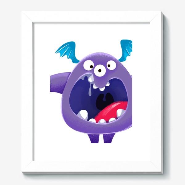 Картина «монстр крикун»