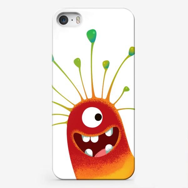 Чехол iPhone «семья монстр»