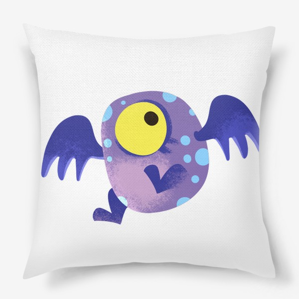 Подушка «монстр летающий»