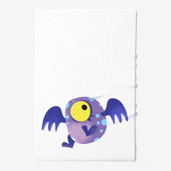 Полотенце «монстр летающий»