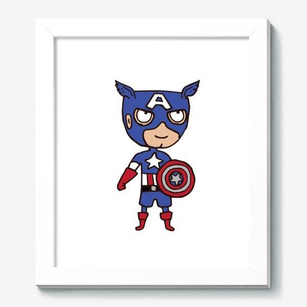 Картина «Капитан Америка»