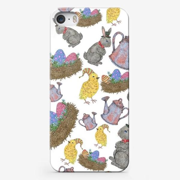 Чехол iPhone «Паттерн пасха»