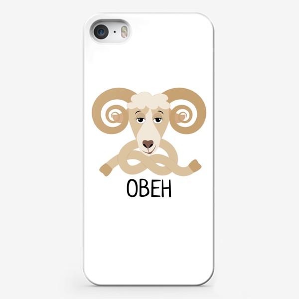 Чехол iPhone «Овен»