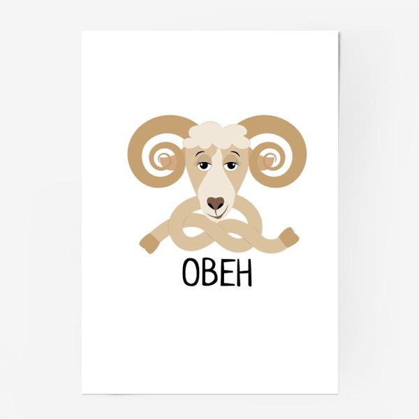 Постер «Овен»