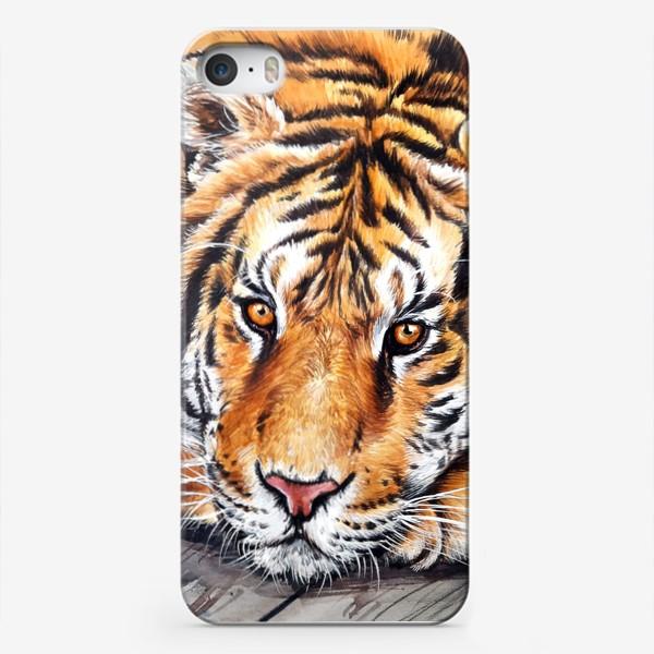 Чехол iPhone «амурский тигр»